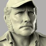 Quint sculpted in Zbrush and rendered in Keyshot.
