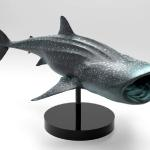 Whale Shark sculpted in Zbrush and rendered in Keyshot.