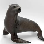 California Sea Lion Concept for Aquarium.  Sculpted in Zbrush and rendered in Keyshot.