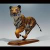 "Running Tiger-Resin-23""x11""x7""-Available as Limited Edition/Signed and Numbered-2008"