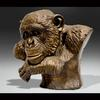Chimpanzee Bust-Resin-Lifesize-Available as Limited Edition/Signed and Numbered