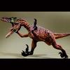 Velociraptor-Resin-Lifesize-Commission for traveling Palo exhibit-1998