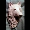 "Wolf Bust-Clay-6""x5""x4""-Commission for Bradford Exchange-2002"