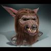 Werewolf Mask-Silicone and Fiberglass-Lifesize-Created for Halloween Prop Company-2009