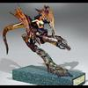 "Dragon Rider-Resin-9""x7""x8""-Available for Sale Painted or Kit-2003"